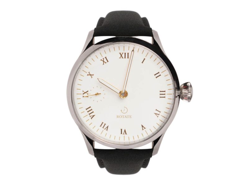 edison rotate watches watch front mechanical premium leather