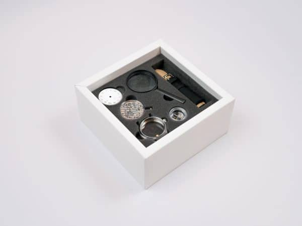 The Edison all-in-one watchmaking kit build a watch watch making kit
