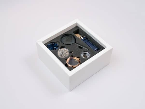 The Galileo all-in-one watchmaking kit build a watch watch making kit