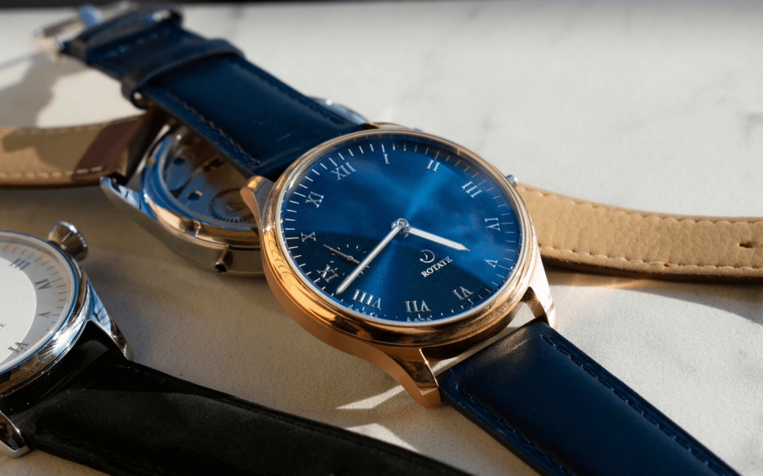 Rotate Watches Lets You Build Your Own Stylish Timepiece