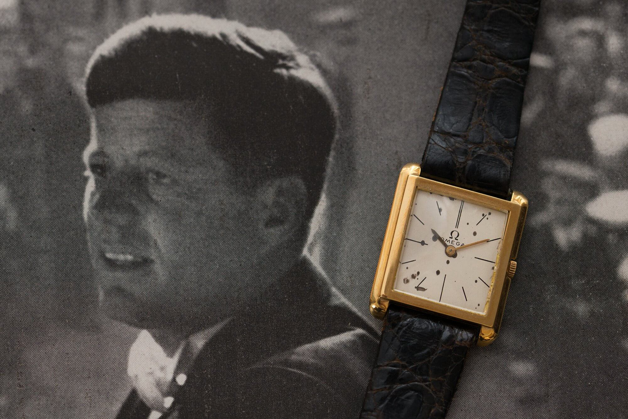 JFK and his watch