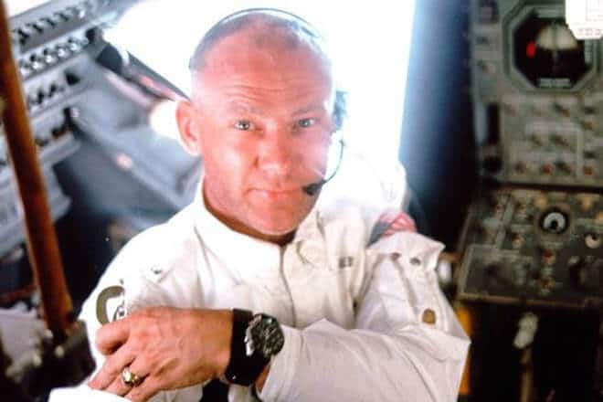 Buzz Aldrin and his watch