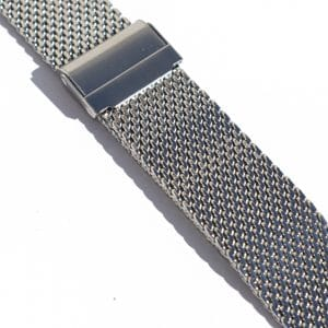 Steel watch strap