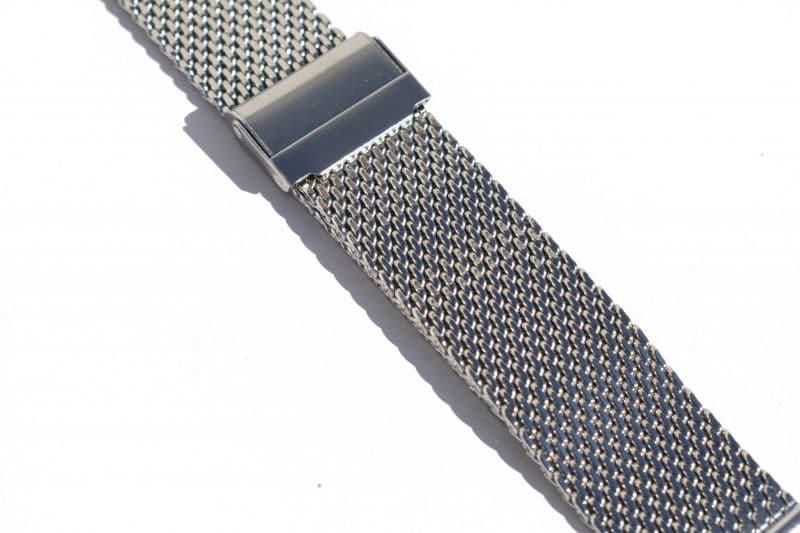 Steel watch strap