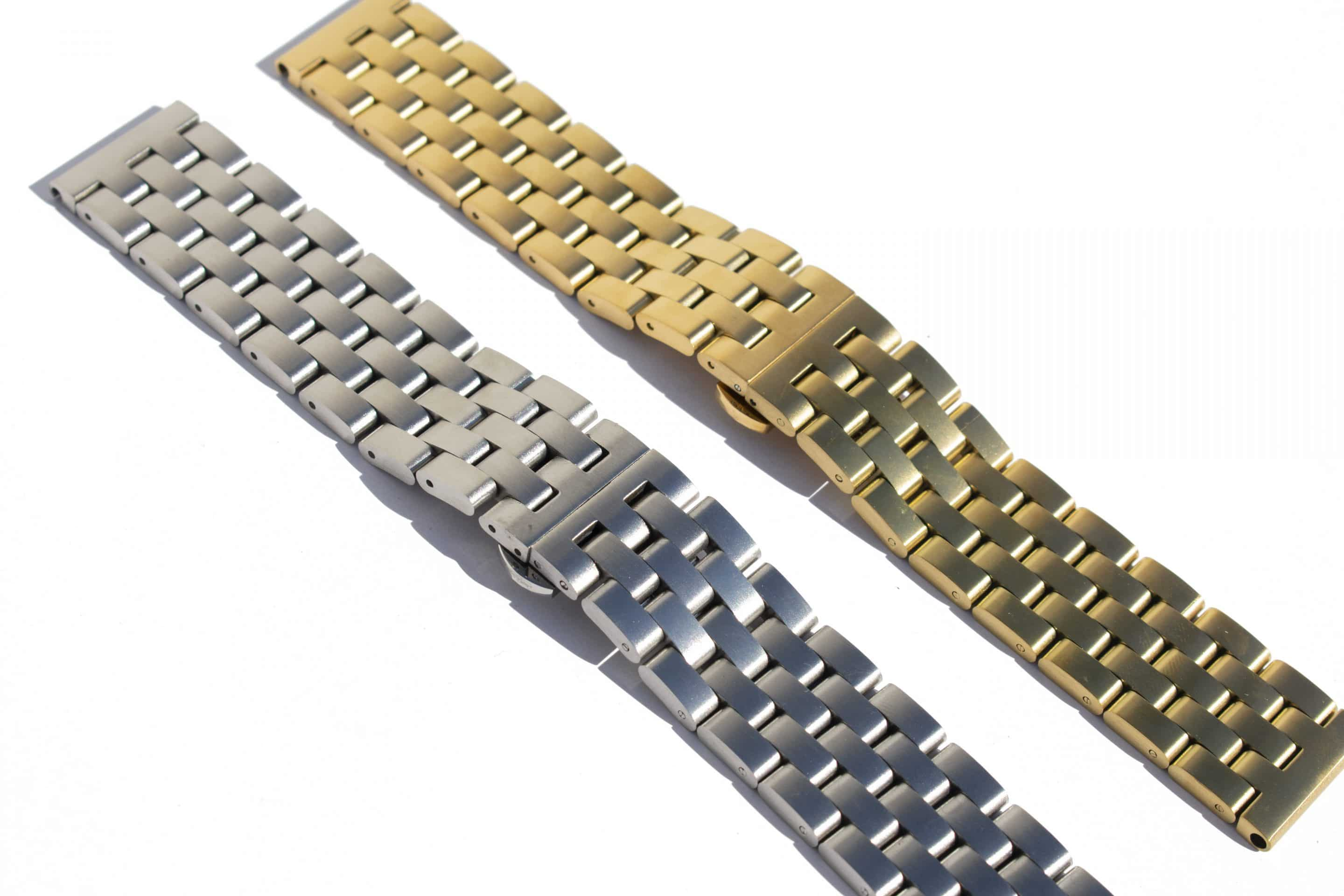 Steel watch straps
