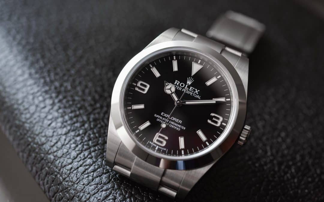 Rolex close up