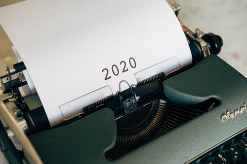 2020 typewriter