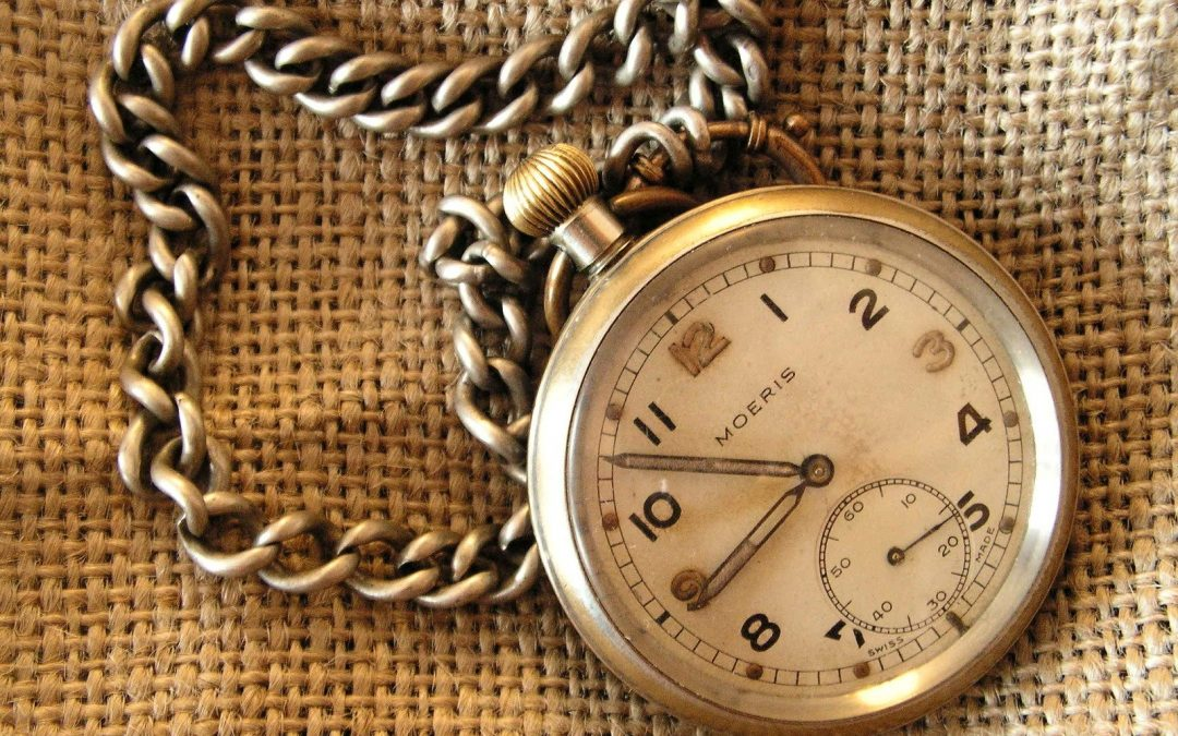 Rotate Watches Blog Post Example of a Pocket Watch and Chain