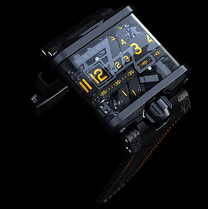 Rotate Watch movement and finger cots
