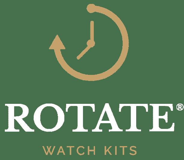 Rotate Watches logo, watchmaking kit