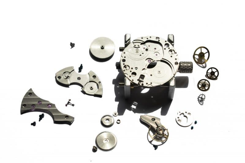 Movement Kit rotate watch kits DIY watch making fashionable practical watches